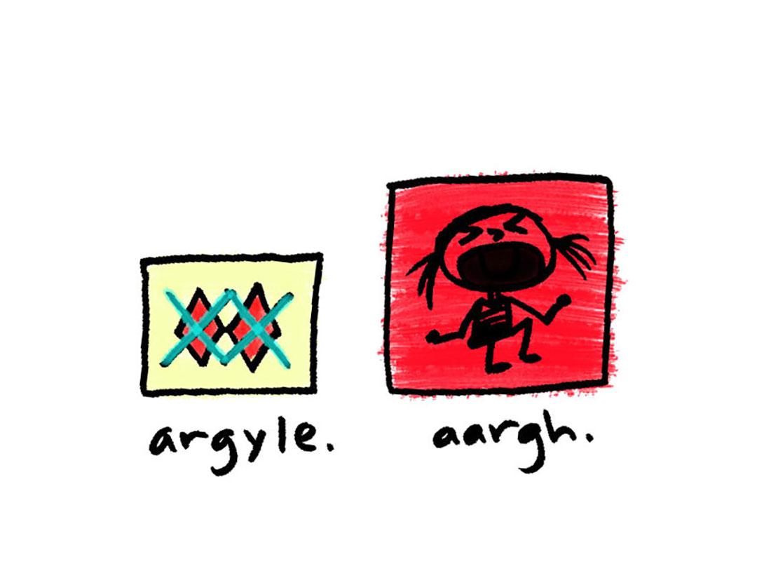argyle + aargh