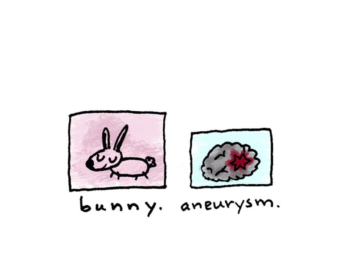 bunny + aneurysm