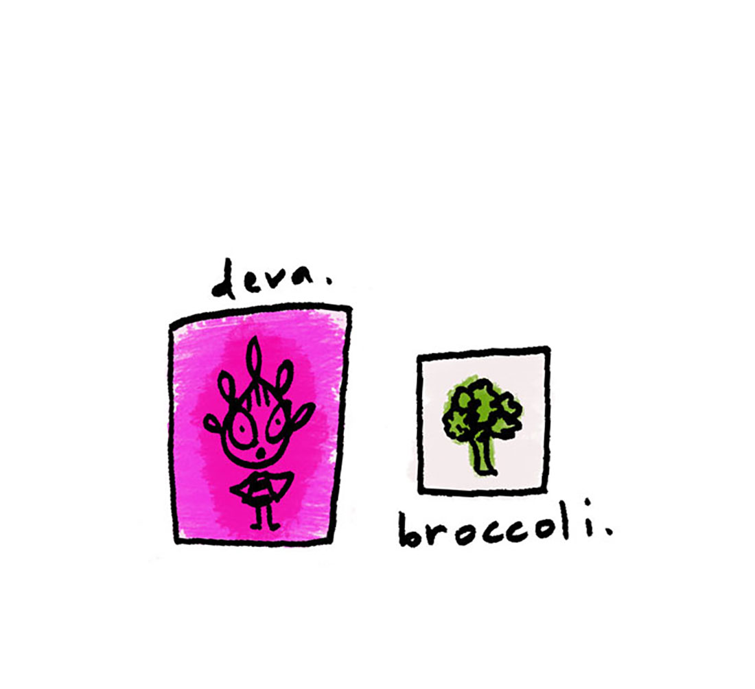 deva + broccoli