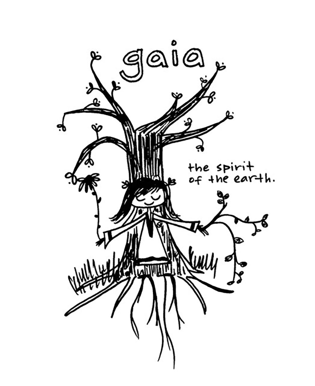 "gaia: the spirit of our beautiful earth, as well as an excerpt from the ""i am a healthy, balanced, thriving planet earth chapter of Yes, I Am"